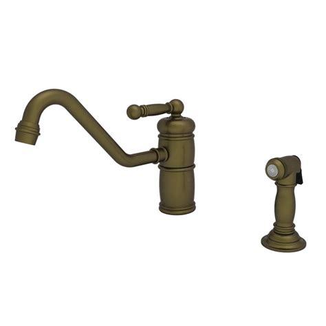 newport brass kitchen faucet faucet com 941 06 in antique brass by newport brass
