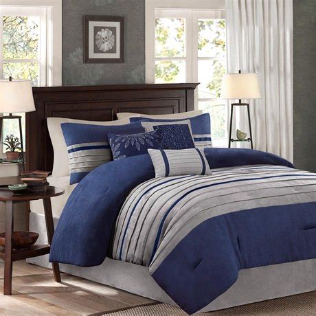 6068 navy blue and gray bedding park bedding sets ease bedding with style
