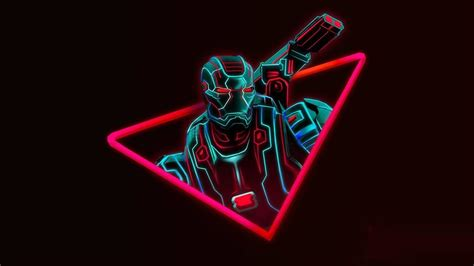 avengers neon wallpapers wallpaper cave