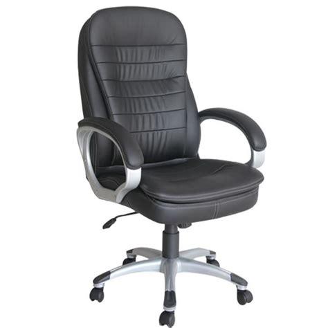 fauteuille de bureau pas cher arebos fauteuil siège chaise de bureau noir achat