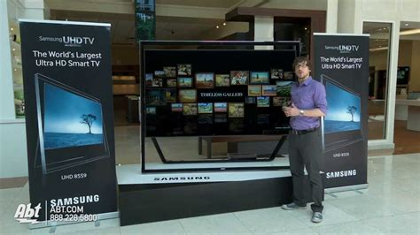Samsung 85 inch UN85S9AFXZA Ultra HD 3D 4K LED HDTV