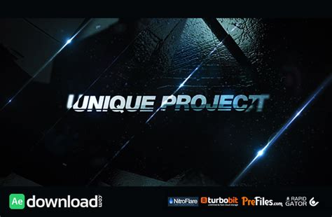 After Effects Templates Free Epic Promo Videohive Free Free After