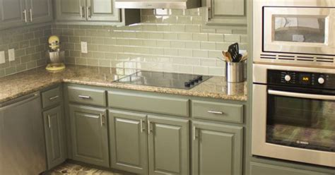 what finish paint for kitchen cabinets our exciting kitchen makeover before and after cabinet 9634