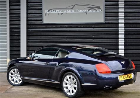 classic bentley continental gt   twin turbo  sale