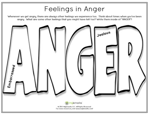 anger coping skills anger management children anger workbook therapy worksheets cbt