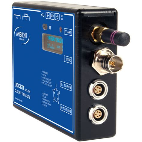 ambient recording acl 204 lockit sync box acl 204 b h
