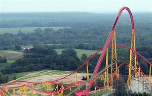 Review of Intimidator 305 Roller Coaster at Kings Dominion