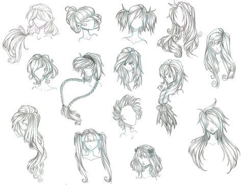 anime boy with curly hair anime hair by aii cute