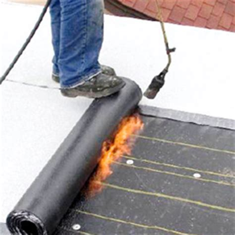 roof pro  dangers   torch applied tar roof