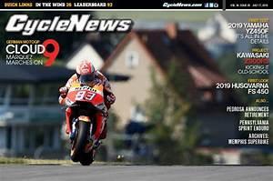 Cycle News Magazine #28: German MotoGP, 2019 Yamaha YZ450F First Test...