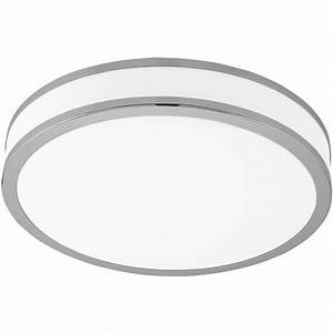 Large round ceiling lights : Palermo large round led ceiling light the