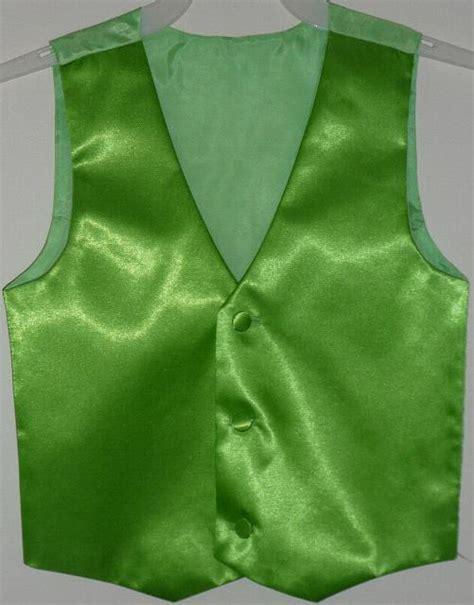 boys green vest