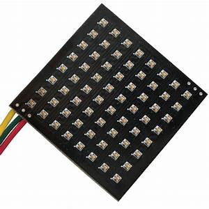 64pixels Addressable Flexible Smd1515 P5 45mm 45mm Led