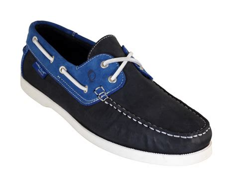 Boat Shoes Quality by Quality Boat Shoe In Navy Cobalt Navy Cobalt Leather