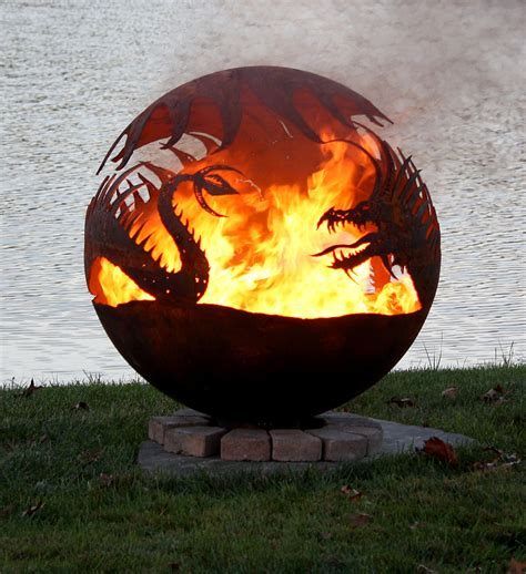 fascinating metal fire pits