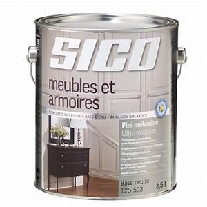 Sico peinture d39interieur pour meubles et armoires for Peinture d accroche pour meuble