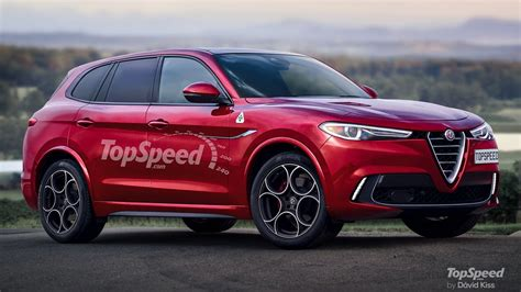 alfa romeo large suv top speed