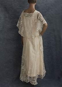 little winter bride vintage 192039s lace wedding dress With vintage wedding dresses 1920