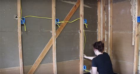 insulating a garage adding outlets and installing osb boards wilker do s