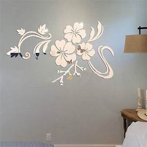 Aliexpress buy new fashion wall stickers gold silver