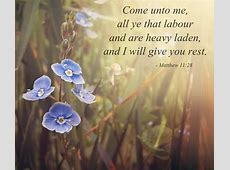 Will Heavy And You Me Are All Labor Come Who I And You Rest Laden Give 10