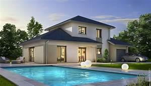 maison moderne semnoz plan maison gratuit maisons With modele de maison en l 2 photos maison darchitecte contemporaine