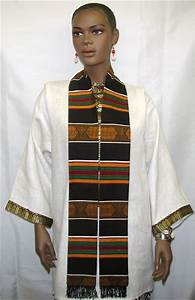 Graduation Kente Print Stole Or Sash