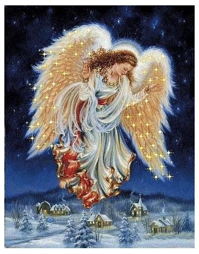 Anjos Anjo Jesus Gifs Imagens Angels Luz