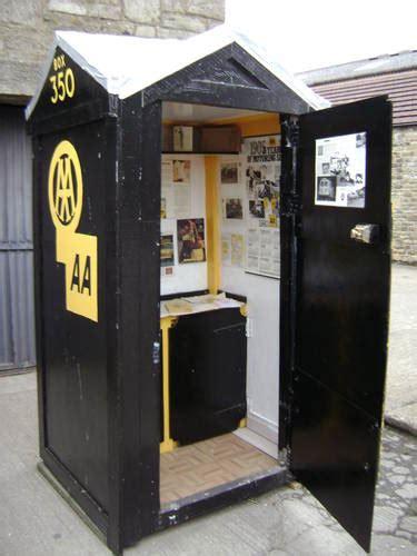 aa automobile association inspired telephone box