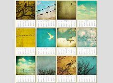 Calendarios 2012 con diseños originales y atractivos Mil