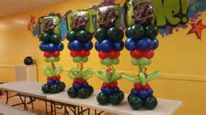 Ninja Turtle Decorations Ideas by Ninja Turtle Balloon Centerpiece