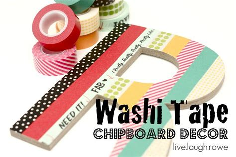 how to decorate with washi washi chipboard decor bombshell bling