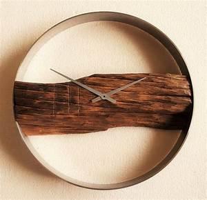 Uhren Aus Holz : eichenholz wanduhr ideen f r hauseinrichtung pinterest wanduhren uhren und moderne uhr ~ Whattoseeinmadrid.com Haus und Dekorationen
