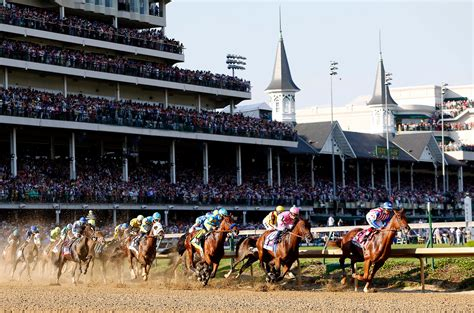 Leading The Field  Photos 141st Kentucky Derby Espn