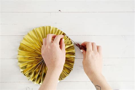 how to hang paper fans on wall diy new years eve paper fans fall for diy