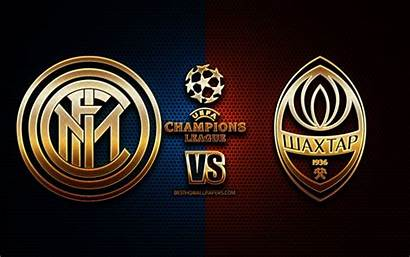 Inter Milan Donetsk Shakhtar Vs Uefa Champions