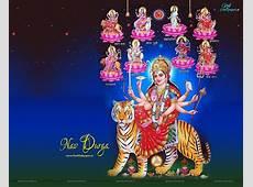 Devi Durga Mata Wallpapers In Navratri Festival Wide HD