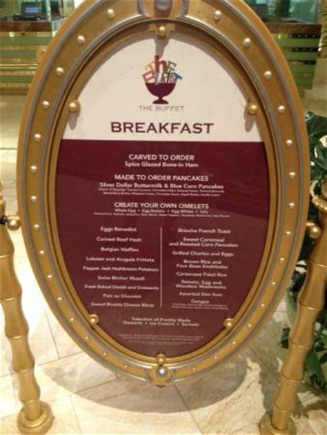 european cuisine breakfast menu picture of the buffet at las vegas