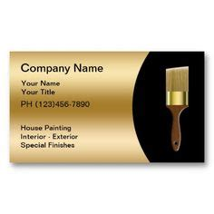 business cards  painters images business
