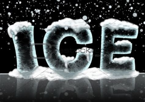 image   word ice  crestock stock