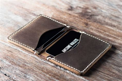dompet pria wallet credit card wallet handmade mens personalized gift idea