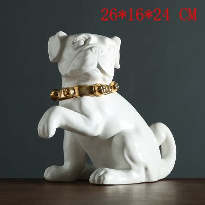 chien ceramique decor cable electrique cuisiniere