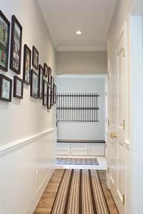 1001 schmaler flur ideen zur optimaler einrichtung With balkon teppich mit tapeten flur diele