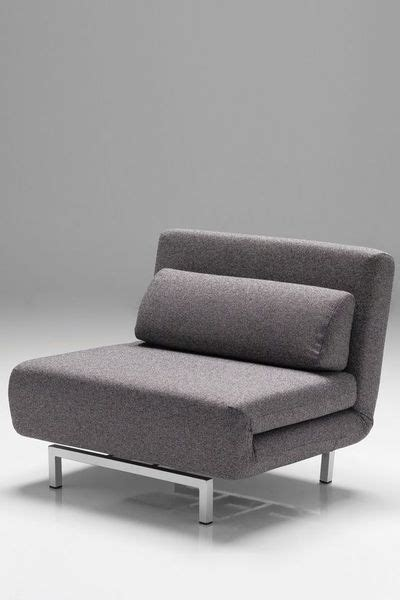 mobital iso convertible chair bed charcoal tweed for