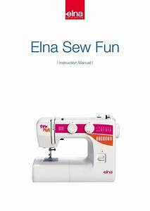 Elna Sewing Machines Troubleshooting