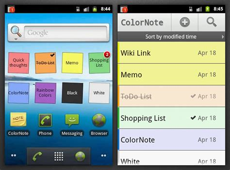 note app for android 40 android apps to boost your productivity 171 android appstorm