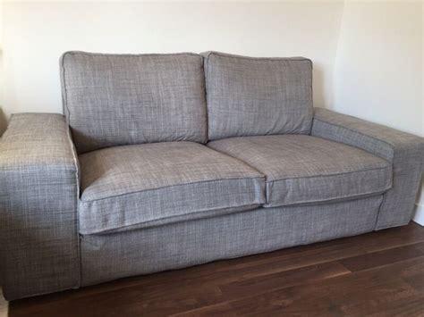 Ikea 2 Seater Sofa by Ikea Kivik 2 Seater Sofa Isunda Grey In Southton