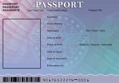 displaying images  blank passport card pinterest