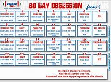 80 day obsession, il nuovo workout di Autumn Calabrese