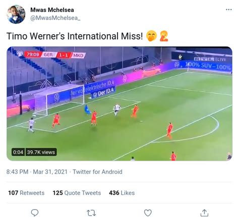Timo Werner Misses Empty Net as Germany Lose World Cup ...